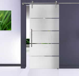 Colours Glass Door Used Sliding Door Hardware
