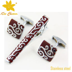 Tieclip-008 Top Quality Cheaper Stainless Steel China Pari Unique