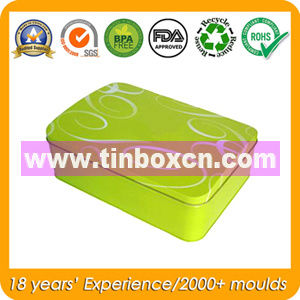 Metal Tin Rectangular Can for Gift Tin Box Packaging pictures & photos
