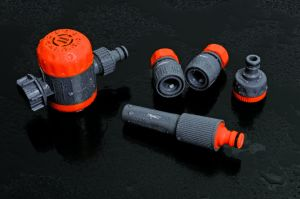 Garden Hose Fittings ABS Female Garden Water Tap Adaptor with Hose Clamp pictures & photos