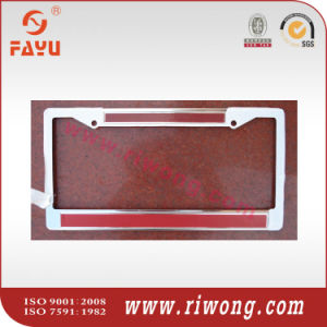 Number Plate Holder with Varied Engraved Strip Colors pictures & photos