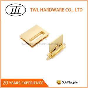 Commonly Used Good Looks Rectangle Flid Lock for Handbag pictures & photos