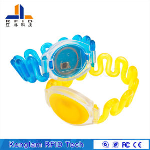 Waterproof RFID Plastic Wristband for Bath Massage pictures & photos