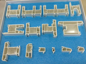 PVC Casement Series UPVC Sliding Series Window and Door Frame Plastic Profiles pictures & photos