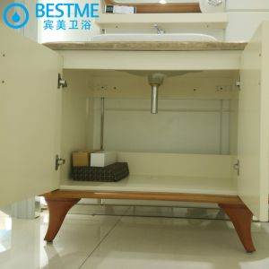 Bathroom Mirrored Cabinet with Side Cabinet (BF-8067) pictures & photos