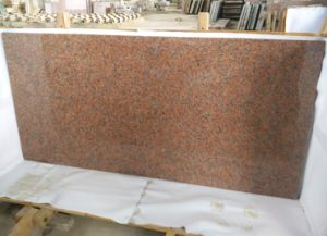 G562 Granite, Maple Red Granite, Red Granite Slabs Tiles pictures & photos