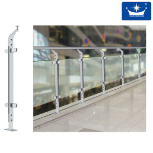 China Steel Post for Glass Railings pictures & photos