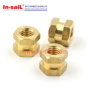 Hexagonal in-Mold Inserts Nut for Plastic Case pictures & photos
