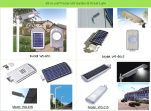 Top Sales 5W LED Solar Garden Lights pictures & photos