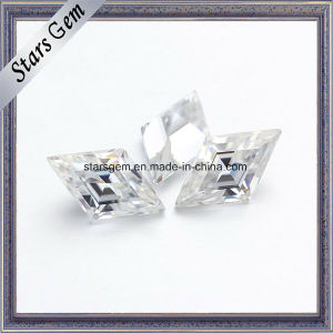 Sparkle Forever Brilliant Kite Shape Synthetic Moissanite pictures & photos