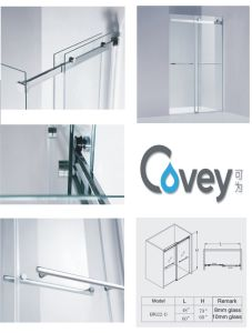304SUS & 8/10mm Tempered Glass Sliding Shower Screen (A-KW022-D) pictures & photos