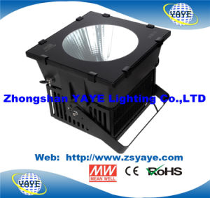 Yaye Best Sell 5 Years Warranty 500W/400W/300W/600W COB LED Flood Light/LED Project with Osram/Meanwell pictures & photos