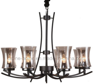 New Design Chandelier Lamp with Glass Shade (SL2246-8) pictures & photos