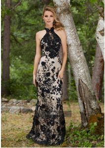 2017 Lace Halter Prom Evening Dresses Pd9909 pictures & photos