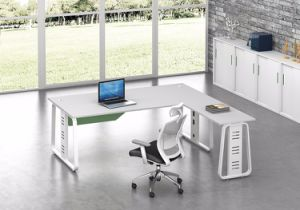 White Customized Metal Steel Office Executive Table Frame Ht67-2 pictures & photos