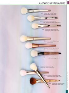 High Quality Synthetic Hair Powder Makeup Cosmetic Brushes pictures & photos