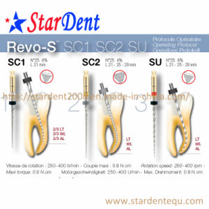 New Revo-S Files (3PCS/box) of Dental Material pictures & photos