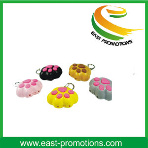 Promotional Animal Shape Plastic Keychain pictures & photos