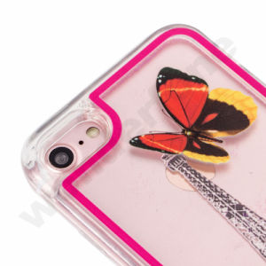 Glitter LED Liquid Quicksand Case Mobile Phone Accessories for iPhone 8 pictures & photos