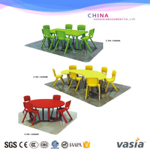 Kindergarden Plastic Table and Chairs Vs-6280 (A-C) pictures & photos