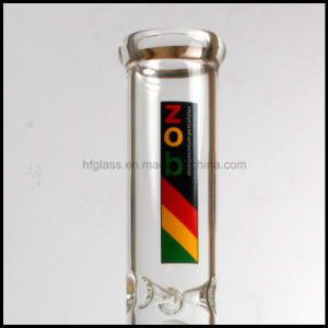 New Zob Glass Mini Double Beaker Smoking Glass Water Pipe with 10 Arm Tree Any Bottle Water Pipe pictures & photos