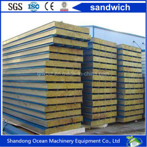 PU Sandwich Panel Polyurethanes Insulated Sandwich Panel Rock Wool Panel pictures & photos