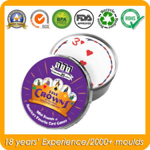 Clac Clic Round Mini Tin for Card Games pictures & photos