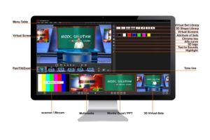 Broadcasting Equipment 3D Virtual Sets Studio Video Mixer Switcher Game Machines \ Chroma Key Karaoke Studio \ Danceheads