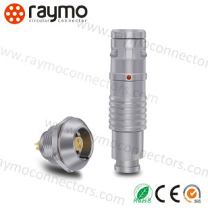 Ce RoHS Waterproof IP67 3 Pin Circular Plug Socket Connector pictures & photos