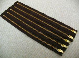 Metal Zipper for Y Teeth (4#nickel)