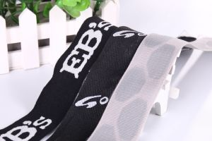 Logo Cusomize Weaving Polyester Jacquard Webbing for Handle pictures & photos