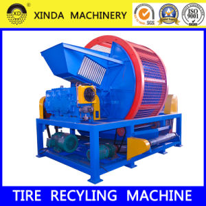 Xinda Whole Tire Shredder Waste Tire Recycling Plant Crusher Machine pictures & photos