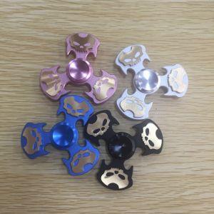 Skeleton Hand Spinner Fidget Spinner Metal Relieve Stress Fidget Spinner pictures & photos