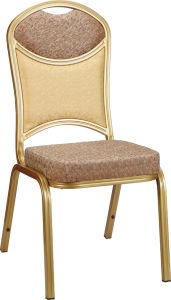High Density Foam Seat Metal Frame Hotel Banquet Chair pictures & photos