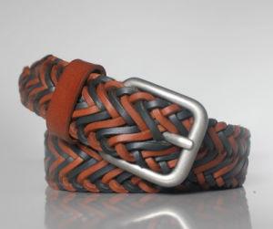 New Fashion Genuine Leather Braided Belt (HD-7010)
