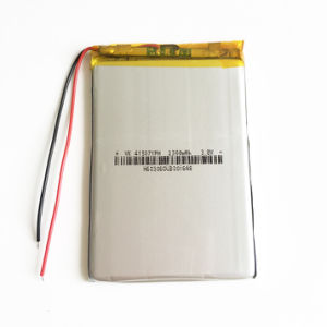 3.7V 2300mAh 415071 Lithium Polymer Lipo Rechargeable Battery Cells for MP3 GPS PSP Mobile Phone Pad MID DVD Power Bank Table PC pictures & photos