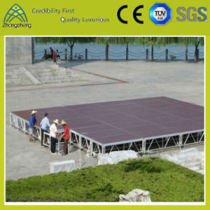 Outdoor Indoor Stage performance Event Platform Activity Aluminum Lighting Portable Plywood Stage pictures & photos