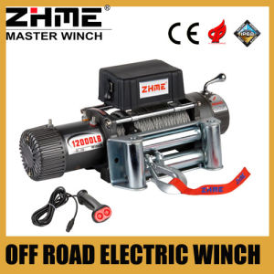 Heavy Duty 12000lbs 12V Zhme Electric Winch with Wire Rope pictures & photos