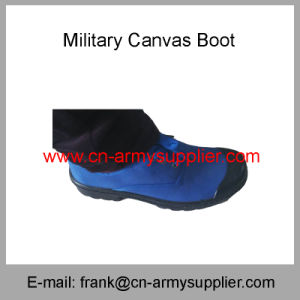 Camouflage-Police-Military-Canvas Boot-Canvas Shoes pictures & photos