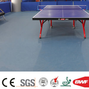 High Quality Soft Indoor Light Grey Multi-Function Vinyl Sports Floor 6.5mm pictures & photos