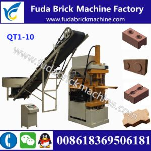 Qt1-10 Clay Lego Block Making Machine Clay Brick Making Plant pictures & photos