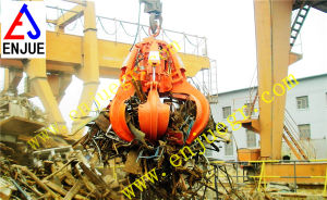 Electric Hydraulic Orange Peel Garbage Grab Refuse Grapple Power Plant pictures & photos