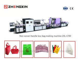 Non Woven Reusable Bag Making Machine (ZXL-E700) pictures & photos