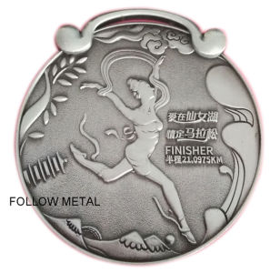 Award Medal for Cross Country with Swan 3D Logo pictures & photos