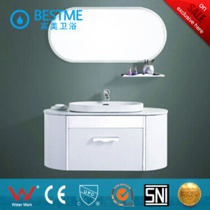 Gray Color Stainless Steel Bathroom Cabinet (BY-B6005) pictures & photos