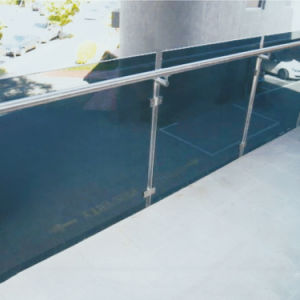 DIY Glass Balustrade Stairs Deck Railing Design pictures & photos