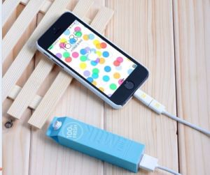 2000mAh Travel Portable Mobile Power Bank with Cute Design pictures & photos
