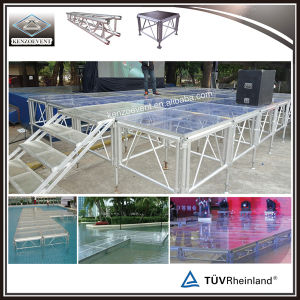 High Quality Retractable Plexiglass Stage Platform for Event pictures & photos