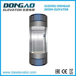 Panoramic Observation Elevator with Glass Cabin-Half Round Series pictures & photos