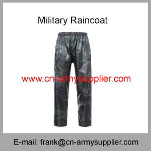 Camouflage Raincoat-Military Rainwear-Army Raincoat-Police Rainwear-Military Raincoat pictures & photos